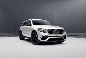 Mercedes-Benz GLC with Black Rims