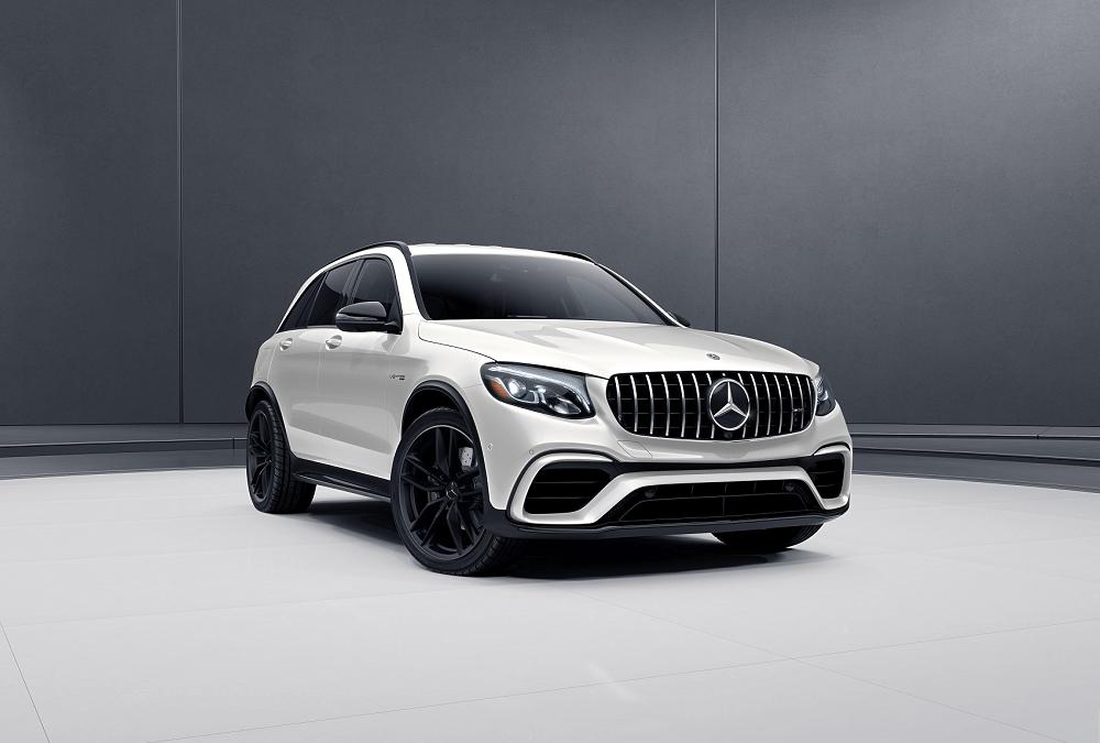 Mercedes-Benz GLC with Black Rims