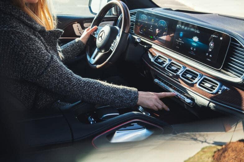 Mercedes Benz GLE Interior