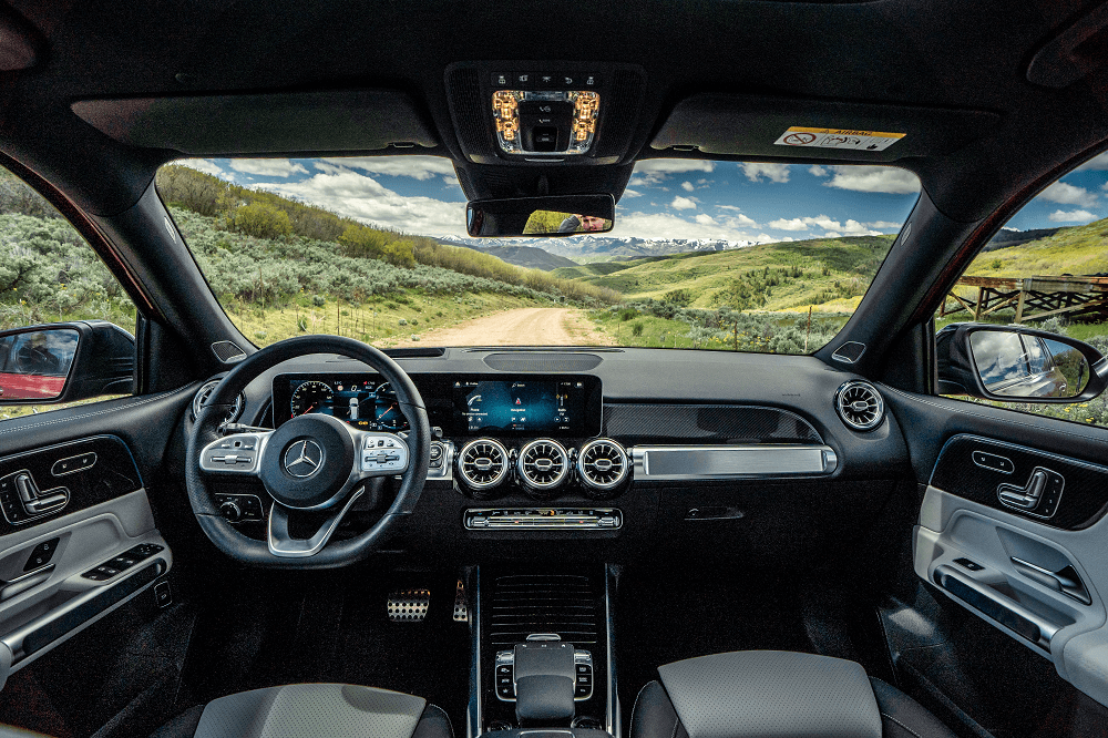 Mercedes-Benz Interior Dimensions