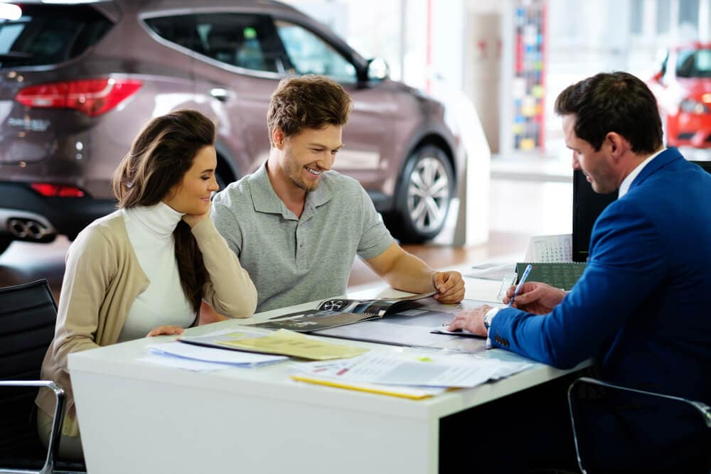 Asking Questions at Dealership