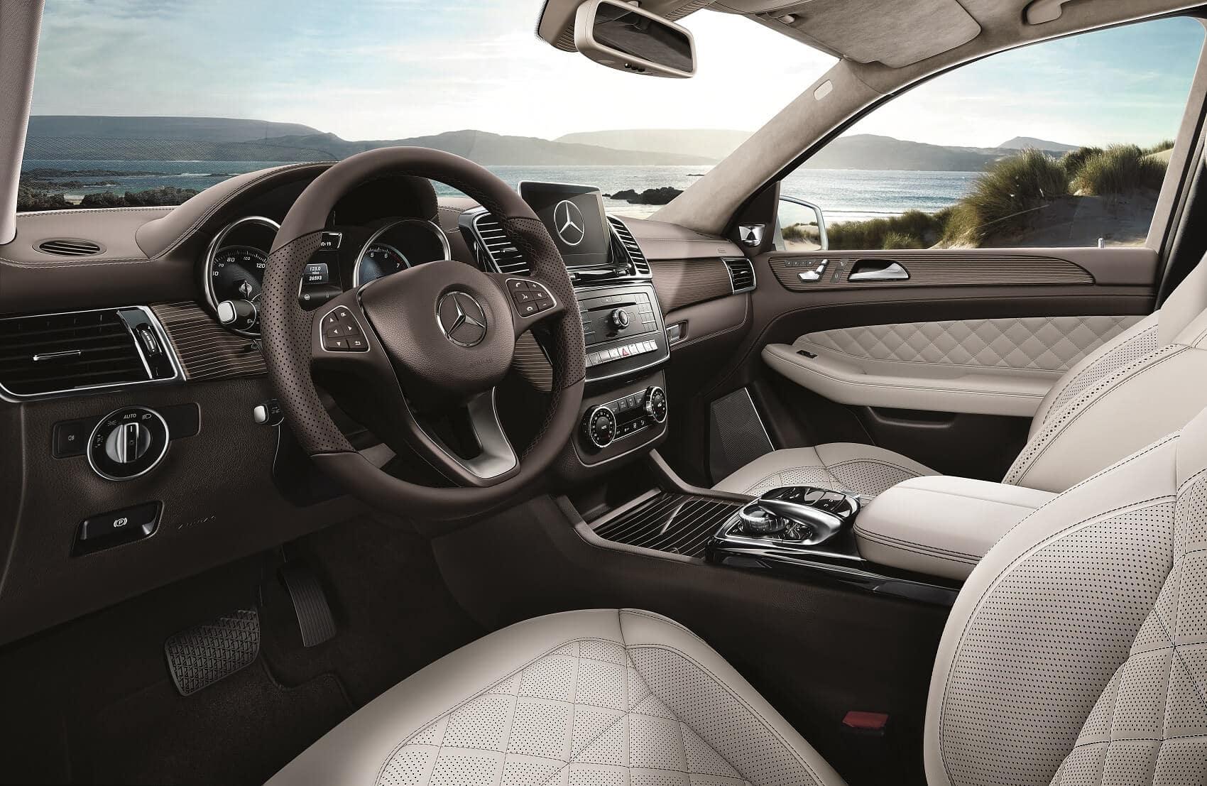 Mercedes Benz GLS Interior Comfort