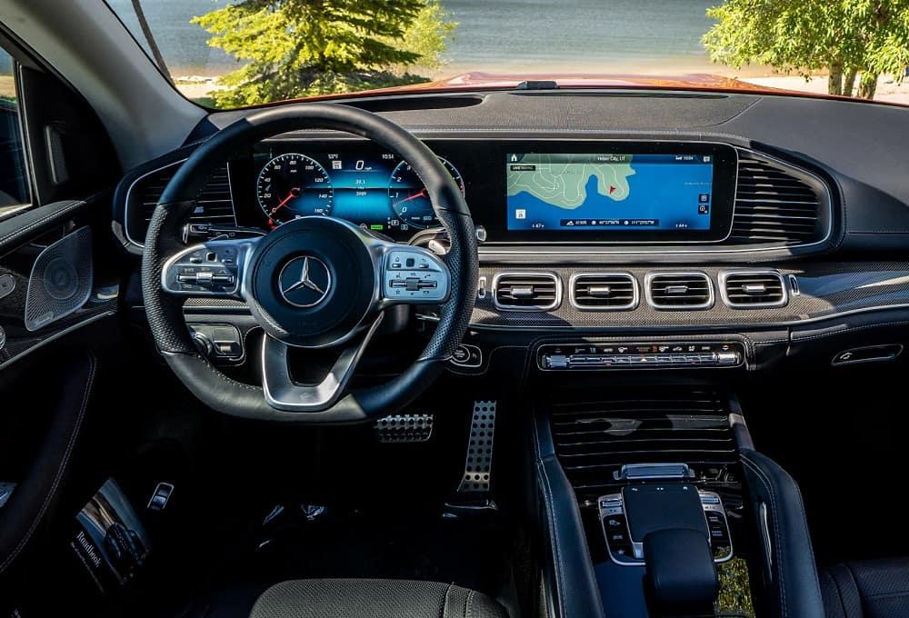 Mercedes Benz GLS Interior Technology