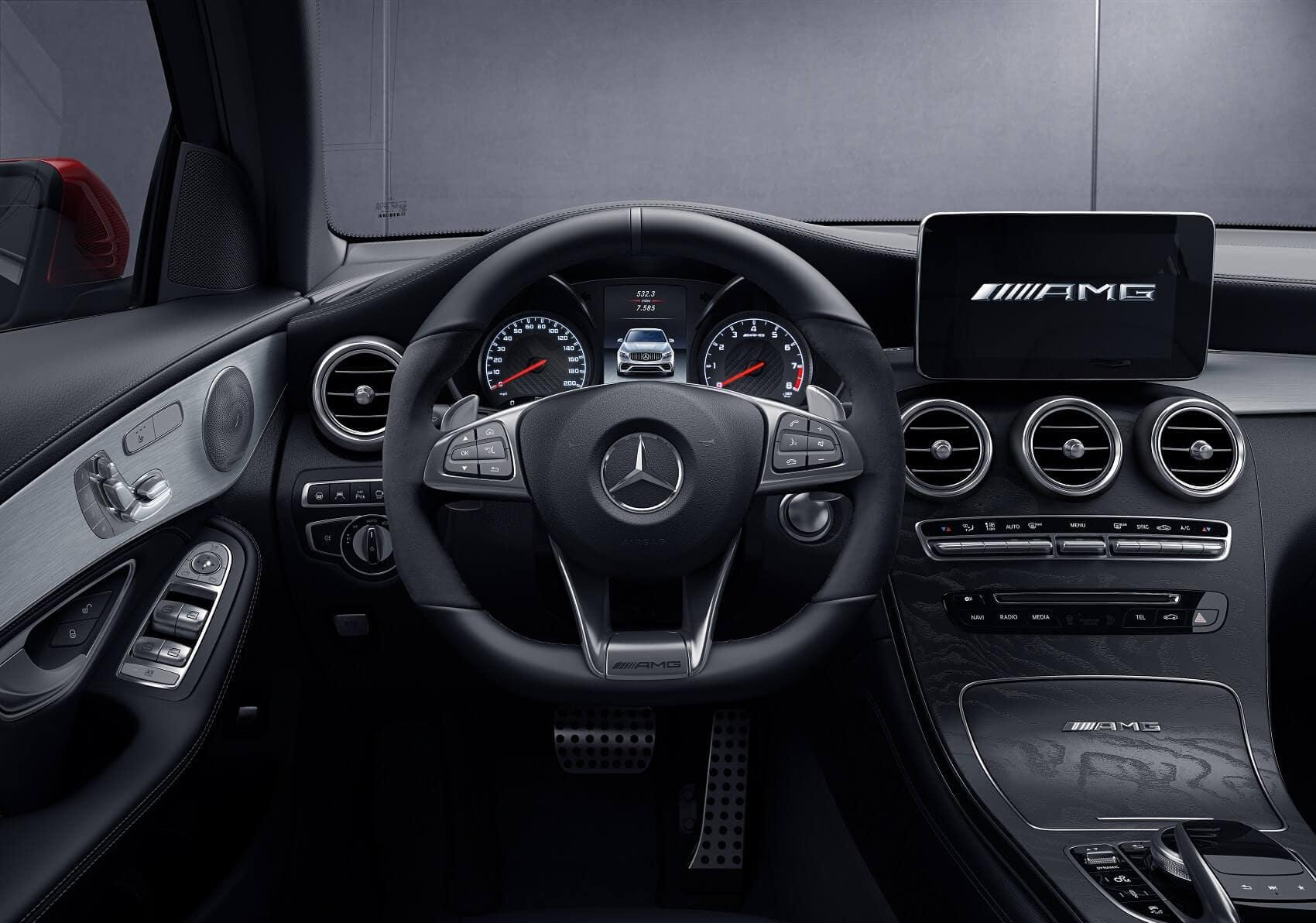 Mercedes GLC Interior Dashboard