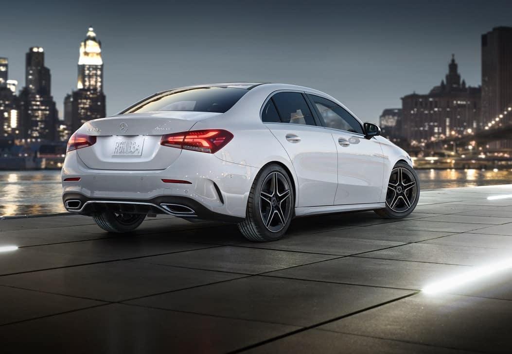 2020 Mercedes A-Class White