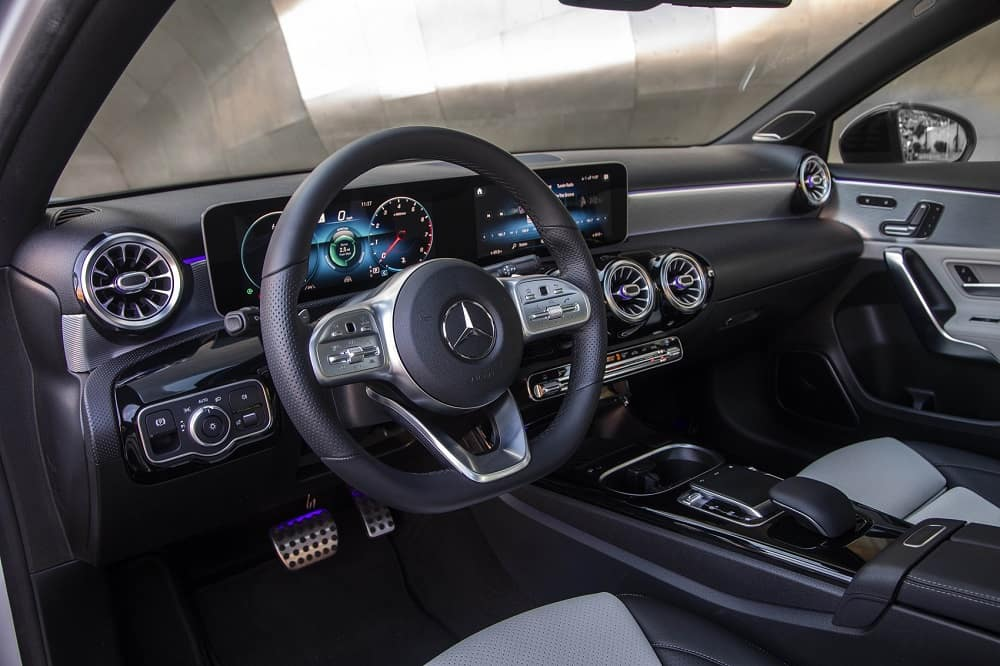 2020 Mercedes A-Class Interior Technology