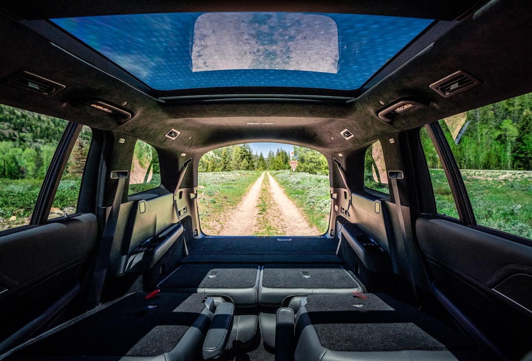 2020 Mercedes Benz GLS Interior Space
