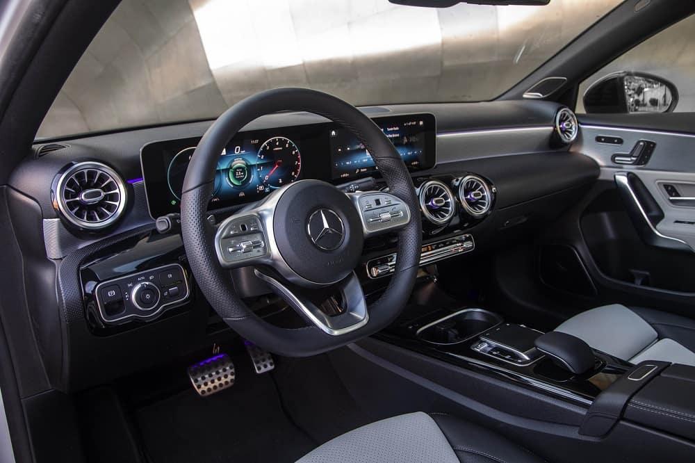 2020 Mercedes A-Class Interior Technology