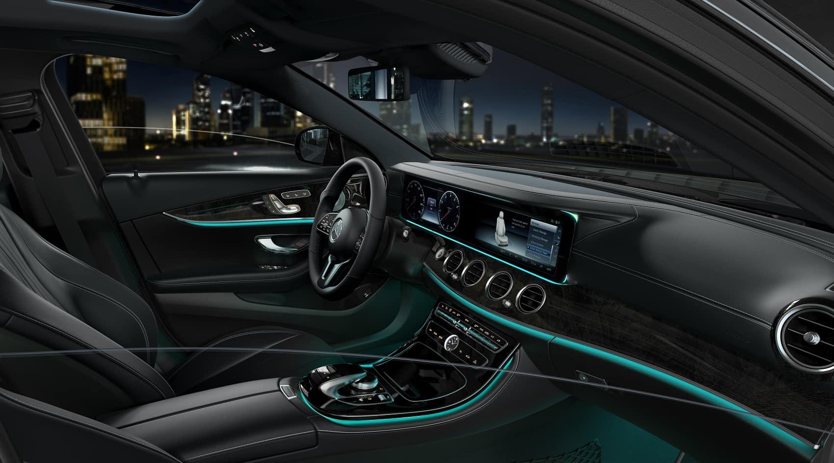 2020 Mercedes Benz E-Class Interior Space