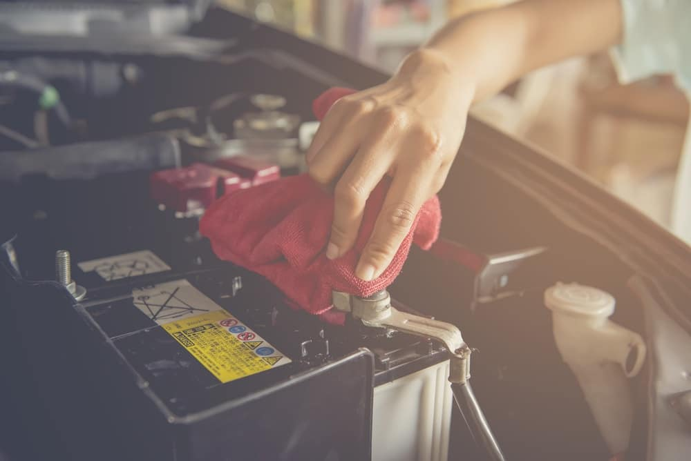 Cleaning Battery