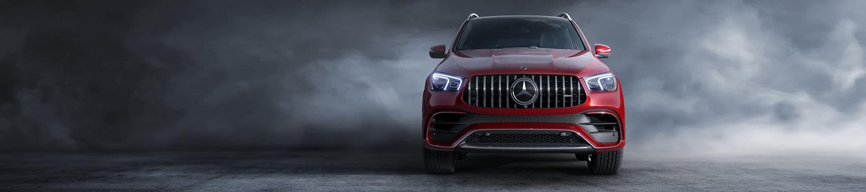 Mercedes-Benz GLE Red