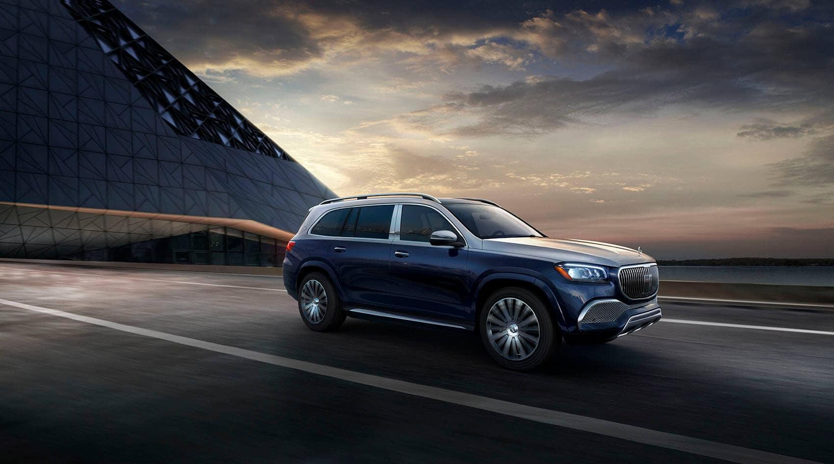 Mercedes-Benz GLS Dark Blue