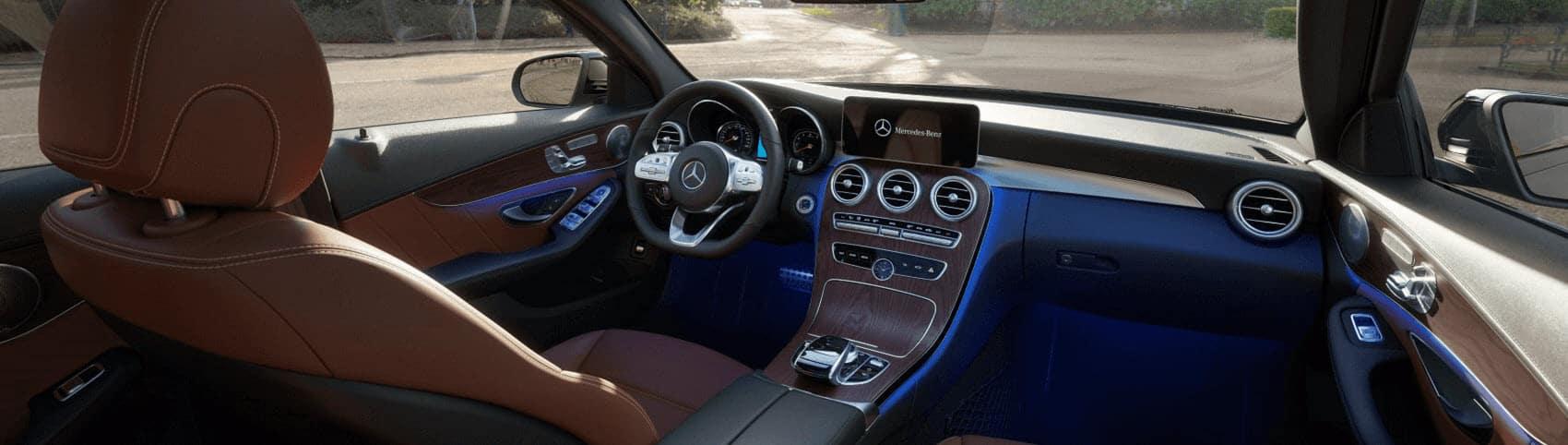 Mercedes C-Class Interior Dashboard