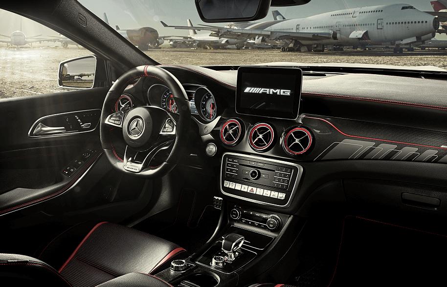 Mercedes-Benz GLA Interior Technology
