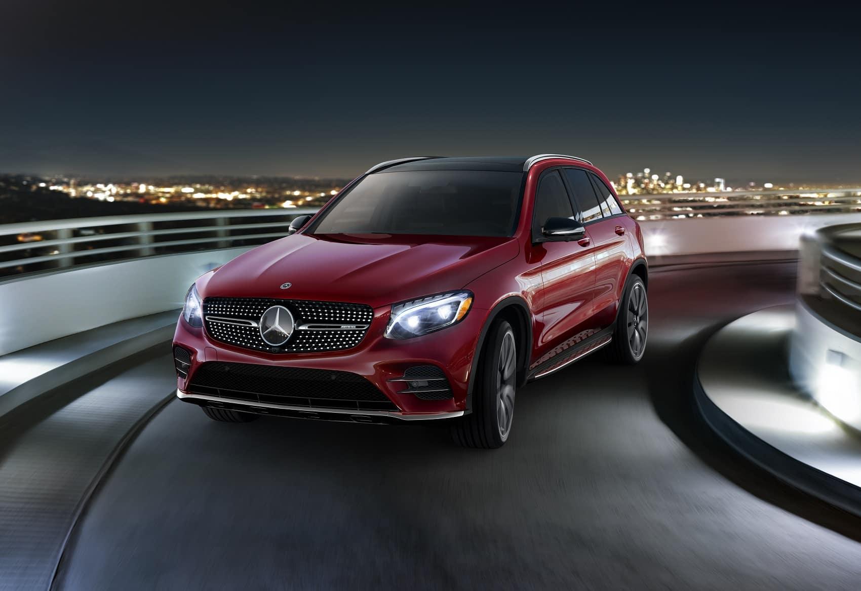 Mercedes GLC Red