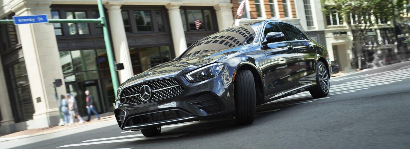 2021 Mercedes-Benz E-Class vs Audi A6