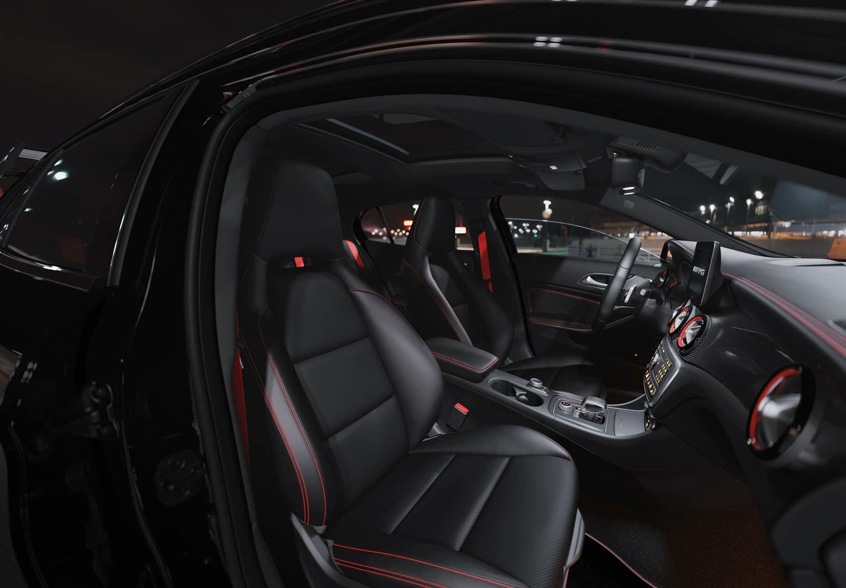 Mercedes-Benz GLA Interior Space