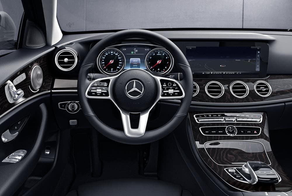 Mercedes Benz E-Class Interior Technology