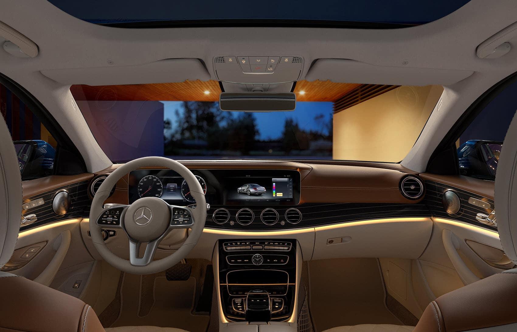 Mercedes Benz E-Class Interior