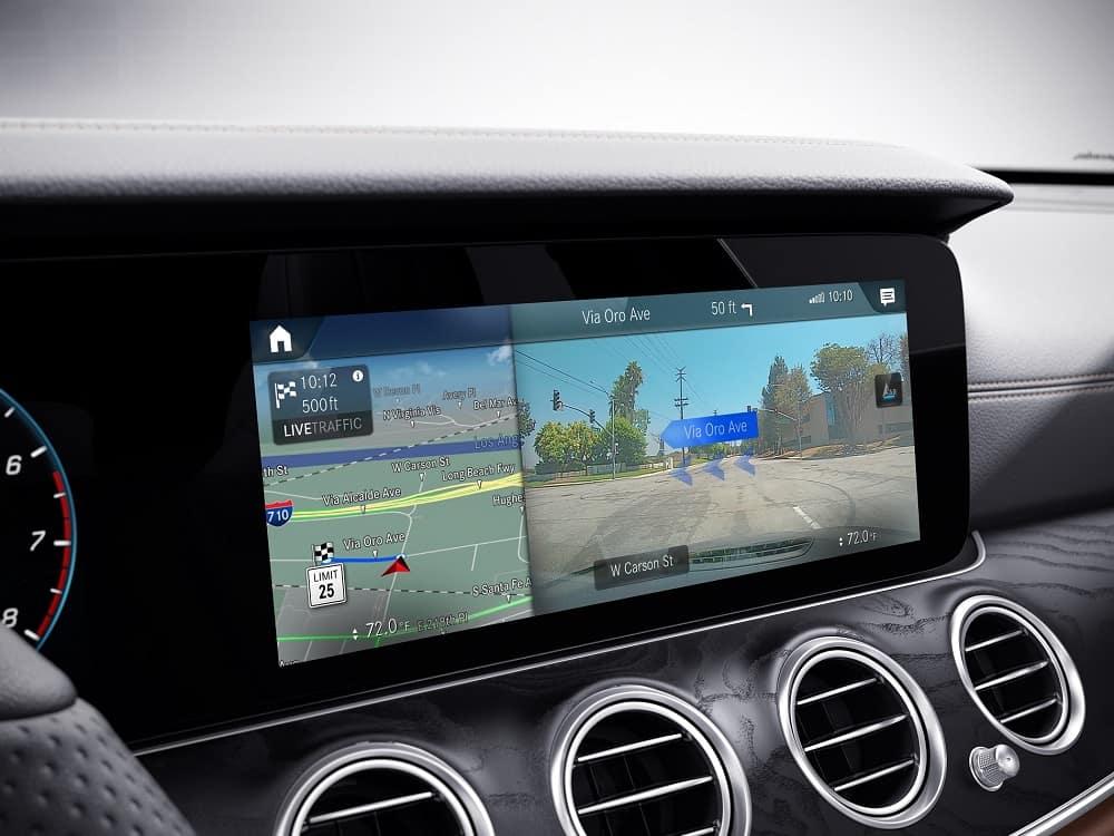 2021 Mercedes Benz E-Class Interior Technology
