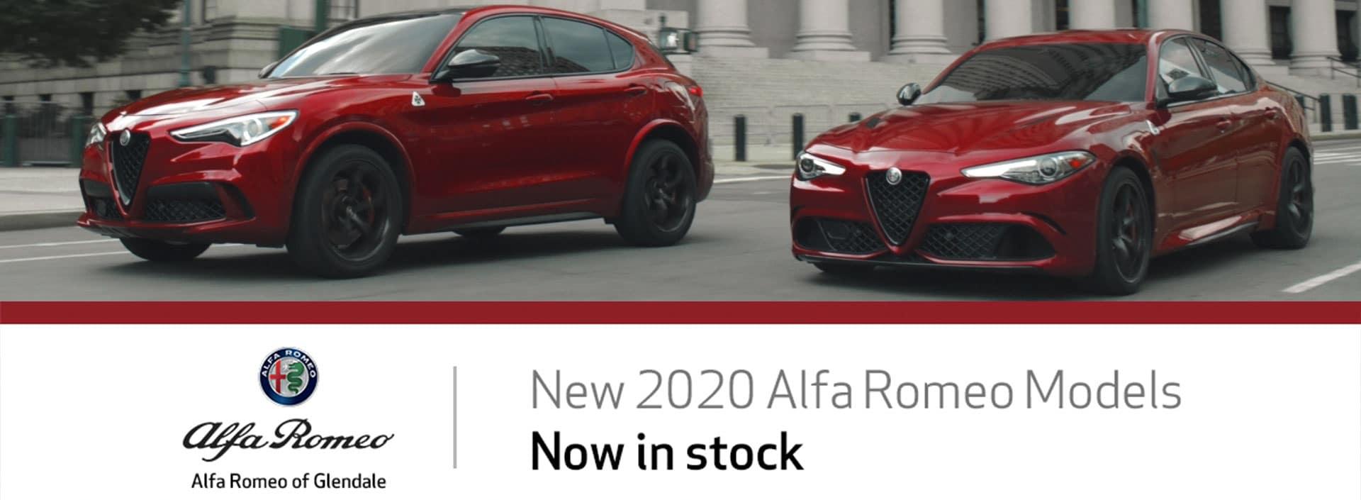 2020 Alfa Romeo Now in Stock