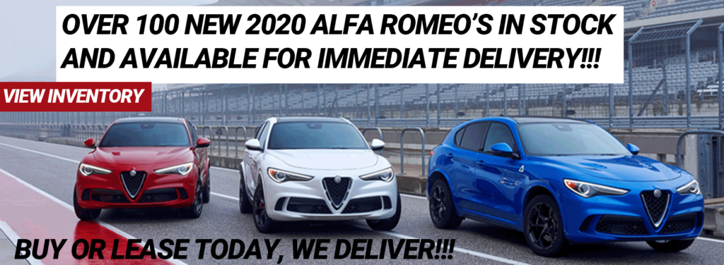 2020 Alfa Romeos