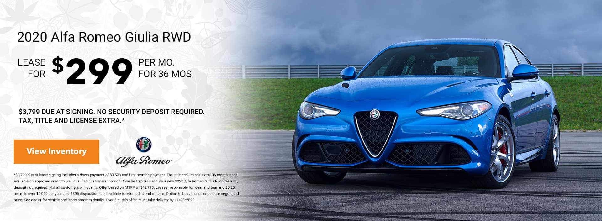 giulia oct offer