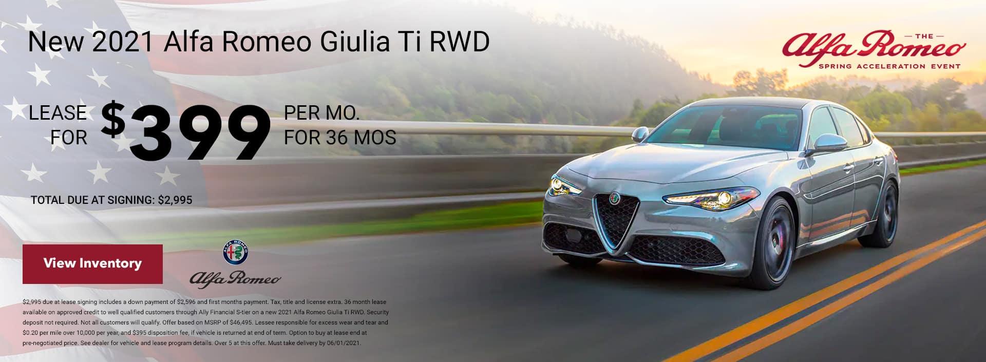 2021 Giulia Ti