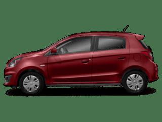 2019 Mitsubishi Mirage - sideview