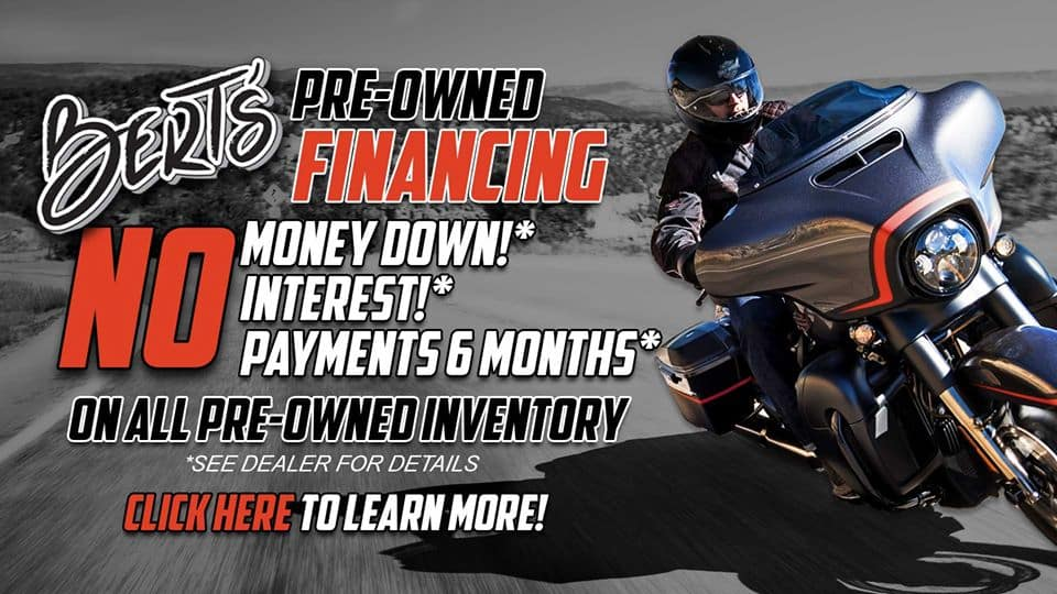 pre owned financing offer