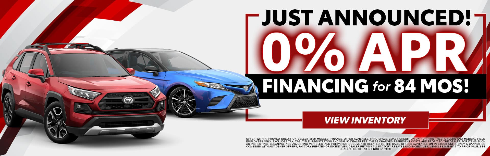 0% APR Financing for 84 Months at Bev Smith Toyota!