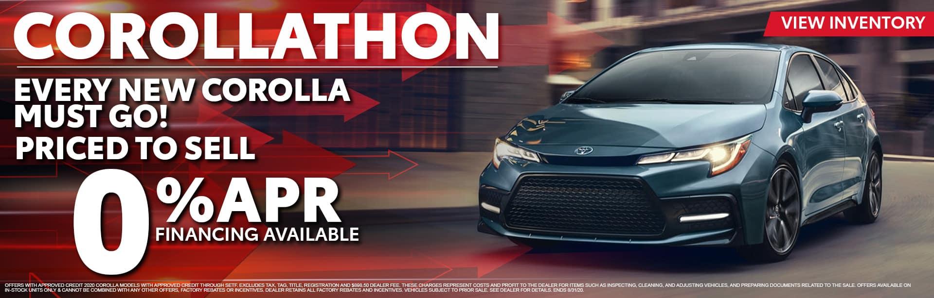 Corollathon is On at Bev Smith Toyota!