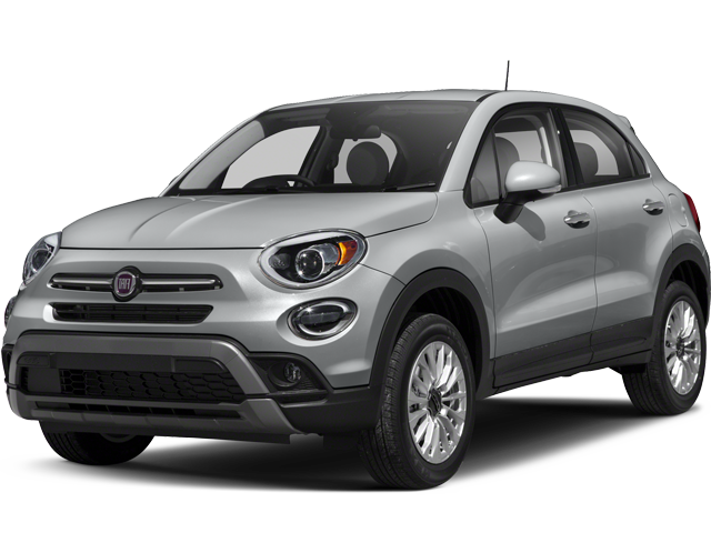 Angled view of the Fiat 500X