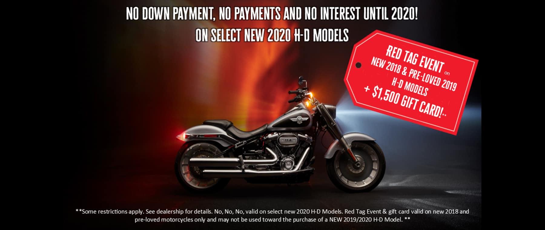 harley-davidson motorcycle promo