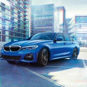 2020 BMW 3 Series Parked