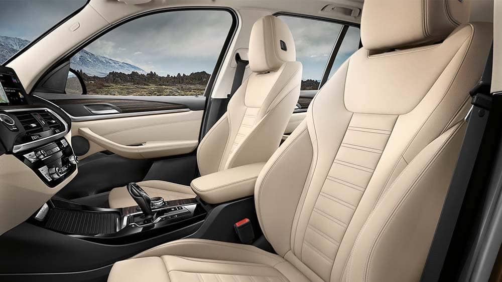 2020 BMW X3 Seating