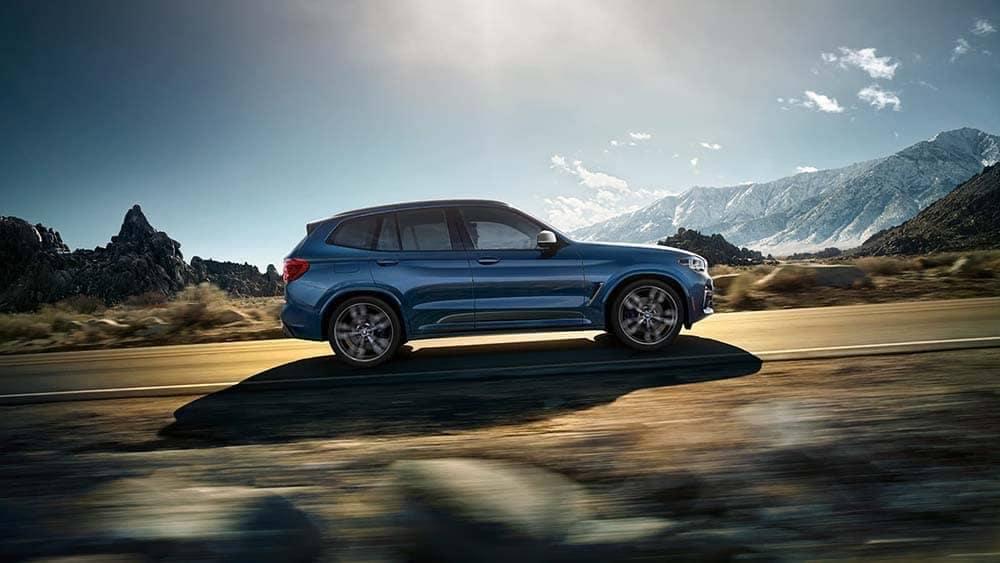 2020 BMW X3 Side View