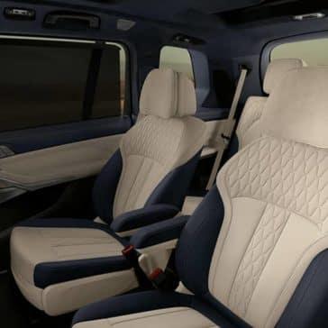 2020 BMW X7 Seating