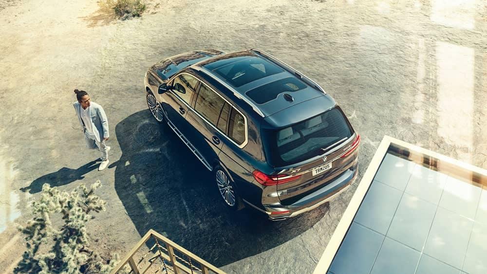 2020 BMW X7 Top View