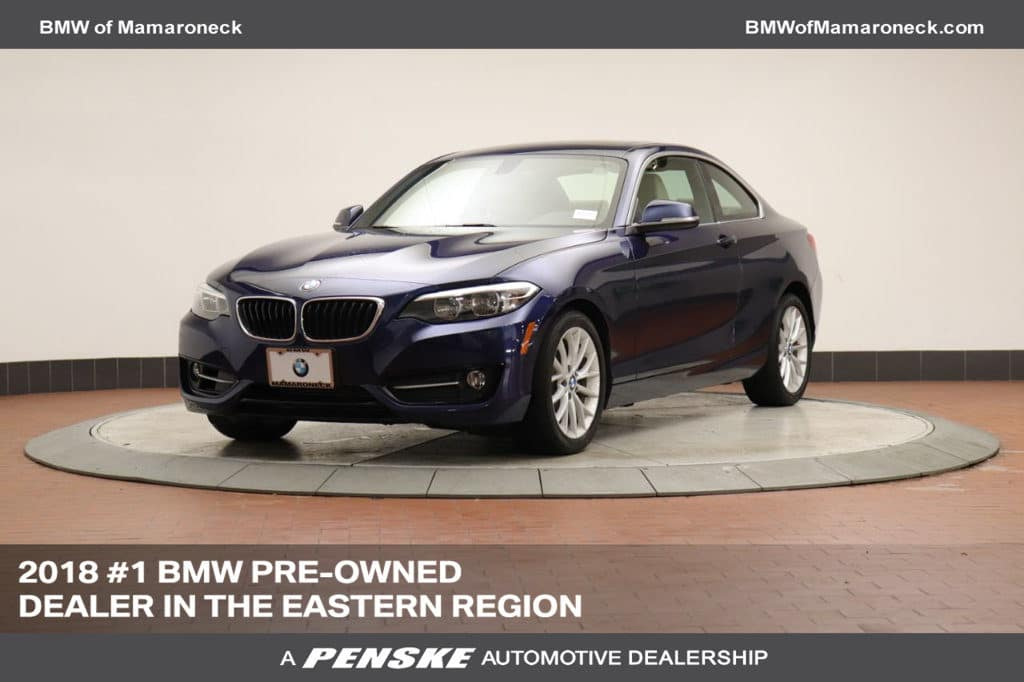 Certified Pre-Owned 2016 BMW 2 Series 228i xDrive Coupe