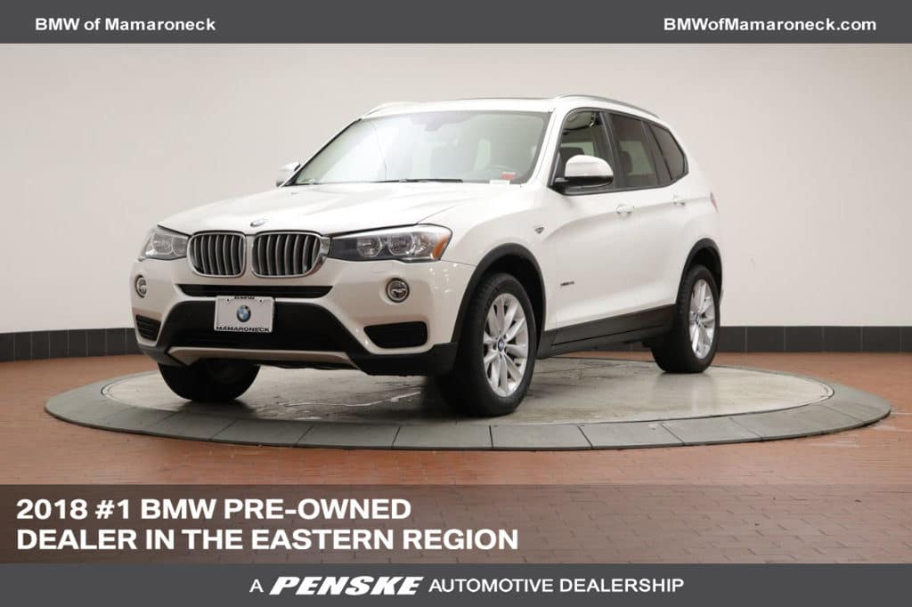 Certified Pre-Owned 2016 BMW X3 xDrive 28i