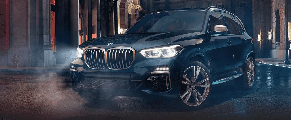 Blueish BMW X5