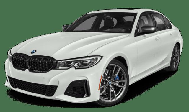 White 2020 BMW 3 Series