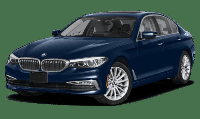 Blue 2020 BMW 5 Series