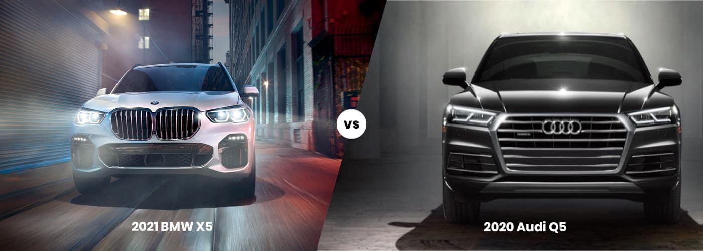 2021 BMW X5 vs. 2020 Audi Q5 | Audi Q5 vs. BMW X5: Interiors