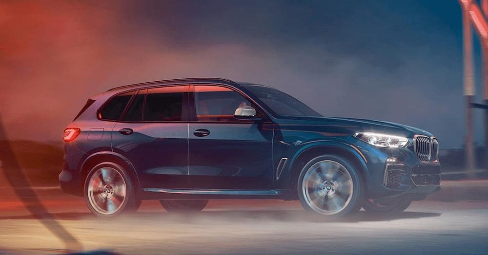 2021 BMW X5 Utility banner