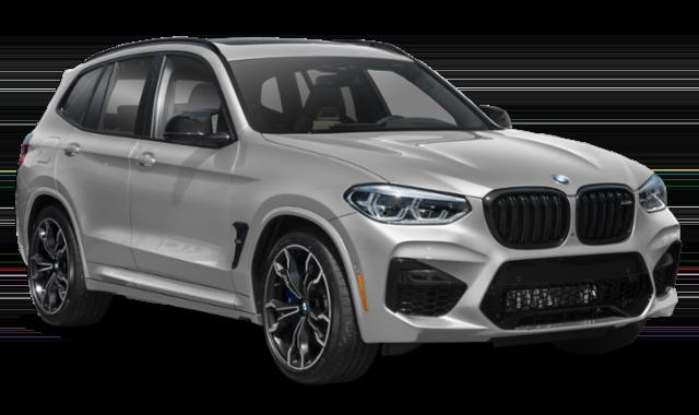 2020 BMW X3 Comparison Image