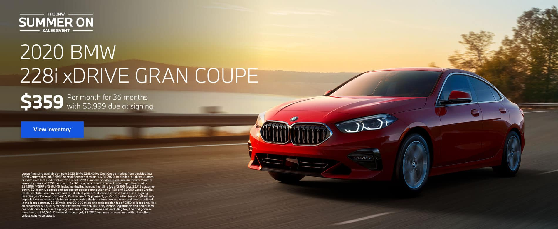 2020 BMW 228i xDrive Gran Coupe $359 a month for 36 months | View Inventory