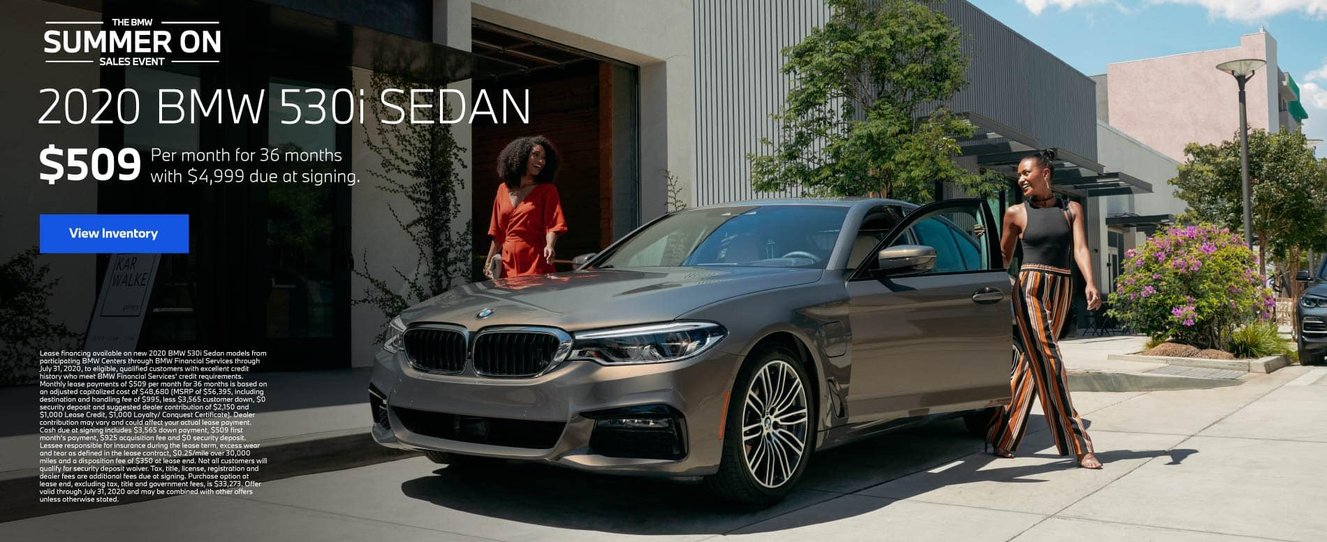 2020 BMW 530i Sedan $509 a month for 36 months | View Inventory