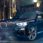 Front exterior view of a 2021 BMW X5